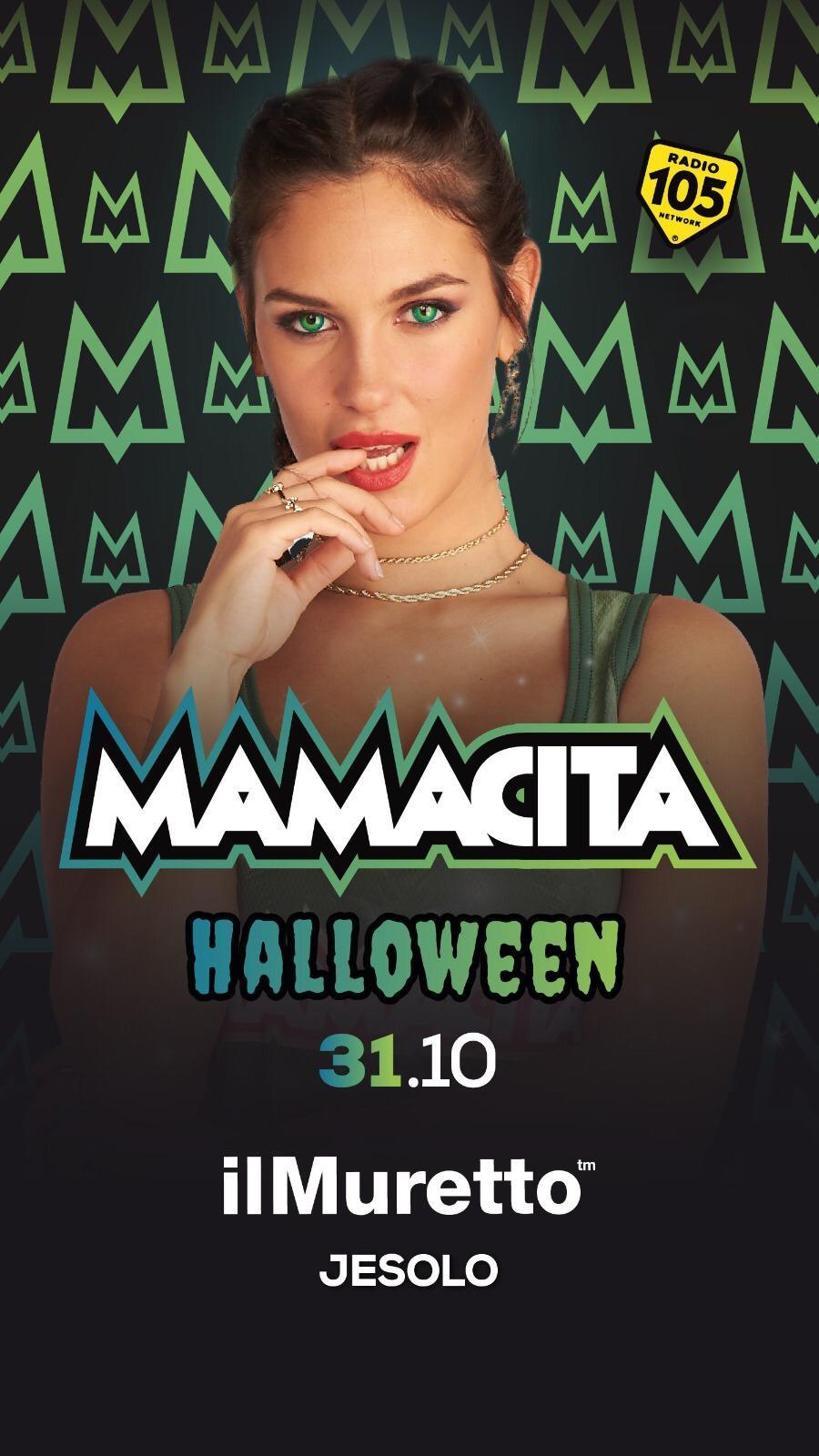Halloween muretto mamacita